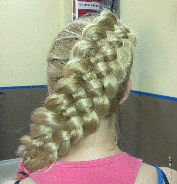 Плетение кос обучу
